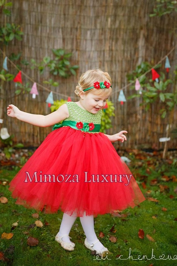 Christmas tutu dress, Pixi elf tutu dress ,crochet tutu dress, santa elf tutu dress, christmas outfit, pixi elf outfit