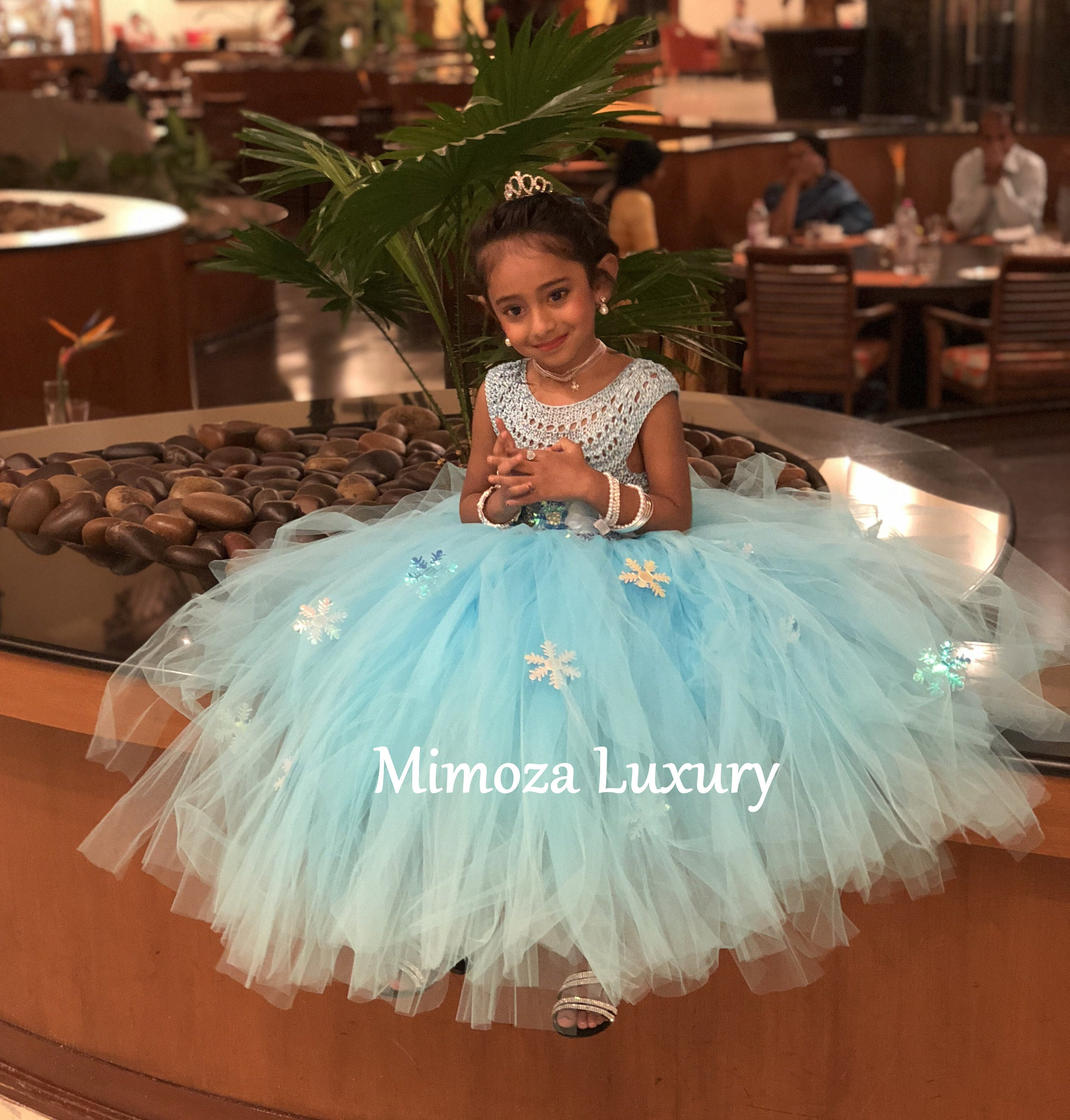 Awesome Elsa Deluxe Princess Dress, Turquoise Tutu Dress, Frozen Themed Birthday  Party, Elsa Frozen Princess Dress Frozen Costume Outfit Elsa Disney