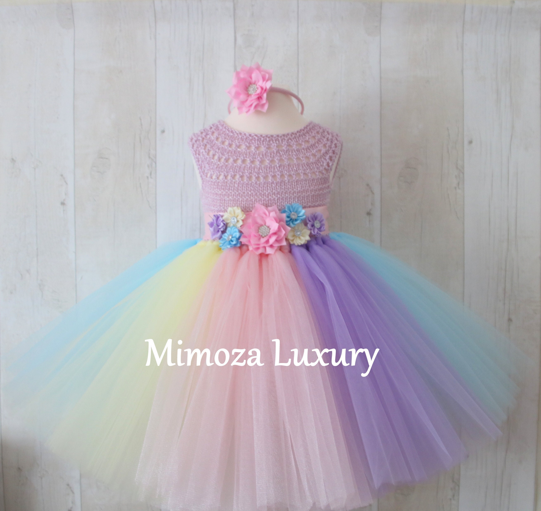 Baby Girl Unicorn Tutu Dress Gallery Photo
