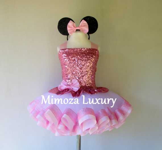 Luxury Pink Minnie mouse dress
