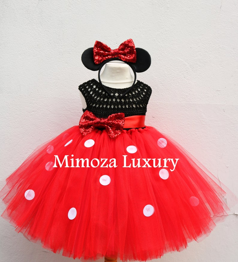 823ea914a Minnie mouse birthday dress red minnie mouse outfit 1st