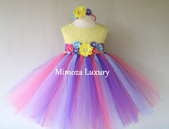 Candy Land birthday girls dress