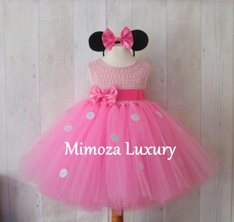 a6c0bc1e2 Minnie mouse dress 1st birthday dress girl infant dress