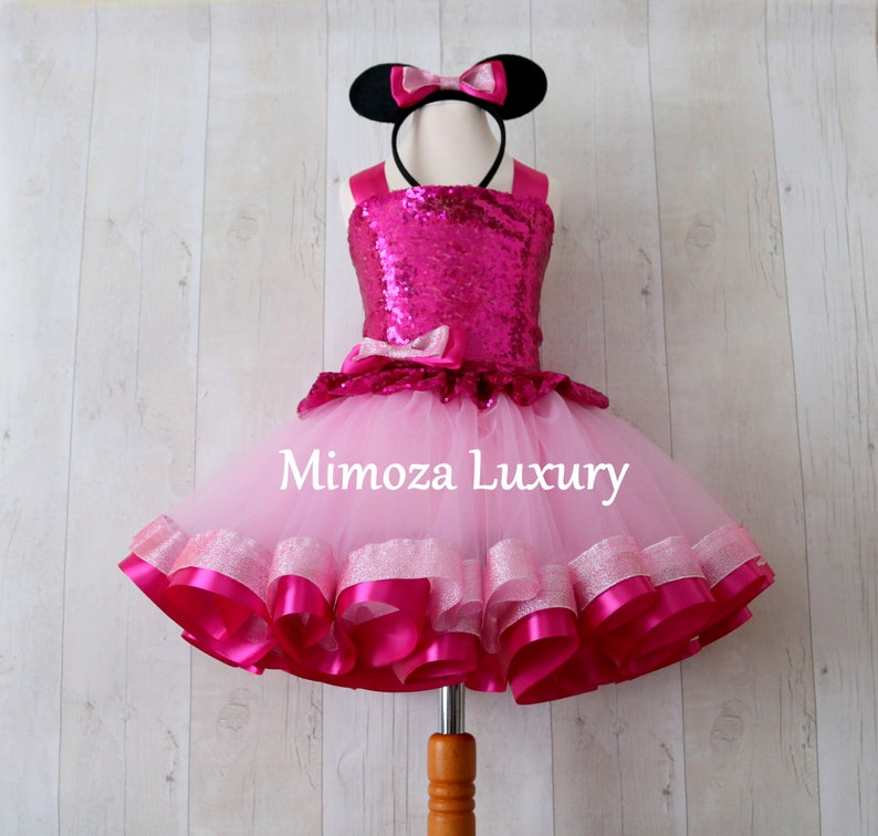 578c1774a Luxury Pink Minnie Mouse Outfit pink minnie mouse birthday
