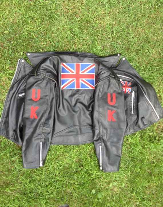 Union Jacket Jacket Biker Wear Motorcycle Motorcycle Vintage Jack Jacket Motorcycle Vintage Leather Leather British Jacket Jacket g7F0dq0P