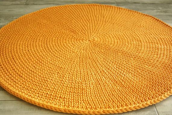 Round Rug Floor Rugs Handmade Rug Carpet Nursery Rug Cotton Etsy