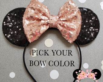 e793c8035538b Rose Gold Minnie Mouse Ears