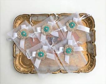 50 wedding favors white organza bag organza sack candy favor bag jordan almond favor persian wedding iraqi mahar bridal shower