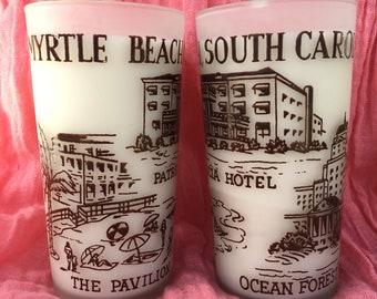 Myrtle Beach South Carolina Soy Candle Set Vintage Scenery Ready to Ship