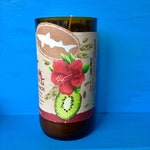 Kiwi Hibiscus Sangria Candle Soy Wax Beer Candle Wedding Engagement Gift Ready to Ship