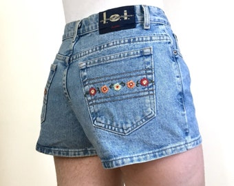 90s Denim Shorts Etsy
