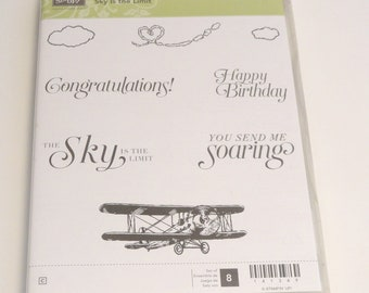 """Stampin' Up """"Sky is the Limit"""" Stamp Set"""