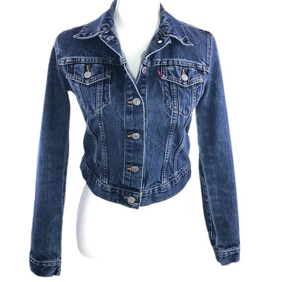 Vintage 80s 90s Levi's Denim Jacket Women's Small