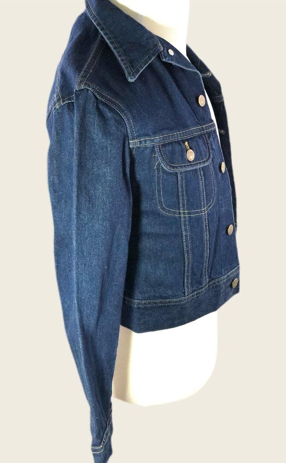 Vintage 60s 70s Men's Lee Denim Jacket Union Made… - image 3