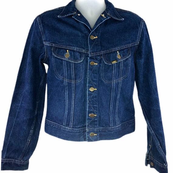 Vintage 60s 70s Lee Denim Jacket Union Made Men's