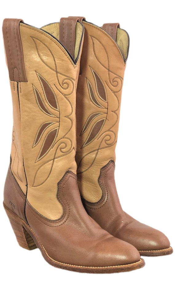 Vintage 80s Frye Boots Women's Butterfly Boots