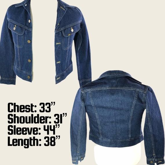 Vintage 60s 70s Men's Lee Denim Jacket Union Made… - image 5