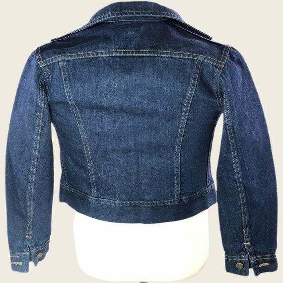 Vintage 60s 70s Men's Lee Denim Jacket Union Made… - image 2