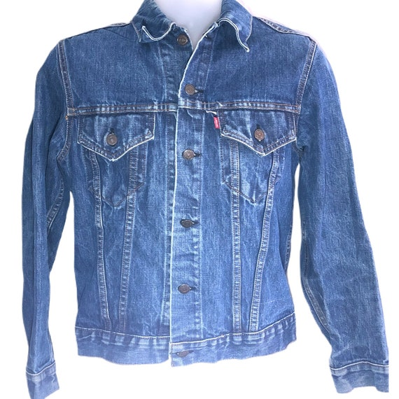 Vintage 60s 70s Levi's Denim Jacket Men's Women's