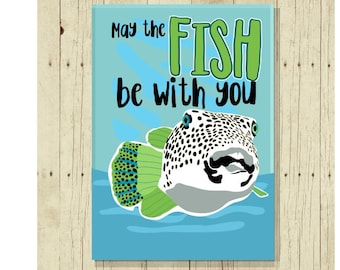 Funny Magnet,Fishing Magnet, Fish Pun, Gift for Fisherman, Fishing Gift, Punny, Cute Fridge Magnet, Cute Magnets, Gifts Under 10