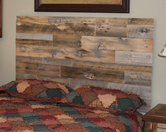 Rustic Wood Headboard Wall Decal Rustic Headboard Wall Mural