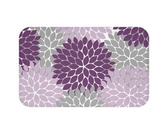 Purple Kitchen Rug Etsy