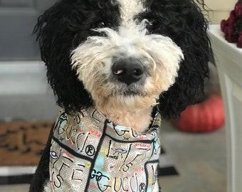8ae5ea2eaff998 Designer Inspired Dog Bandana