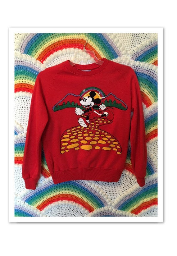 Rare Vintage Mickey Mouse Sweater