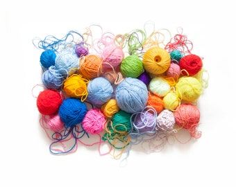 alpaca wool blend rustic yarn