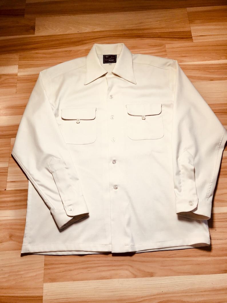 1950s Men's Clothing Swankys Vintage 40's-50s Grant Sport Shirt $138.99 AT vintagedancer.com