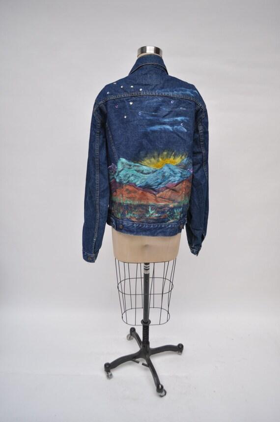 vintage levis jacket denim levi's jacket boyfriend
