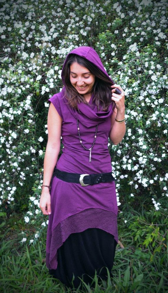 Dress Boho Cosplay Short Arwen Dress Hooded Dress Elven Fairy Dress Maxi Dress to Dress Dress Festival Long Bohemian Pixie Dress F6pnFP0