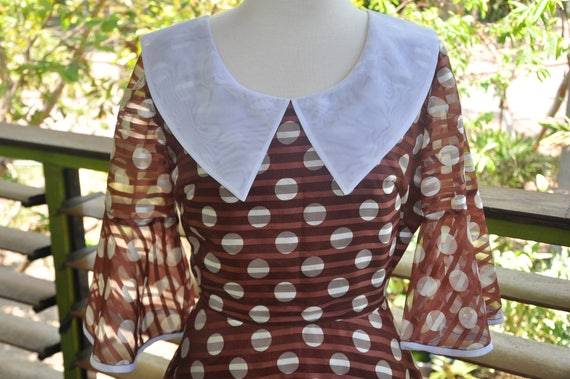 Fab 60's Polka Dot Dress