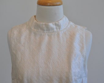 Handmade 1960's Mod Metallic Dress