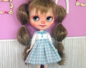 Blythe dress, blue blythe...