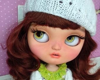 Doll OOAK Icy (similar Blythe) custom, custom doll, blythe custom, OOAK icy custom, OOAK blythe custom