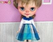 Blythe dress, blythe chec...