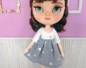 Blythe dress, blythe hear...