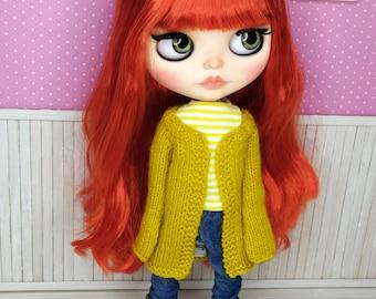 Blythe Outfit, Blythe Pants, Blythe Clothes, Blythe Outfit, Blythe Dress, Blythe Jacket, Blythe Jeans, 1/6 30 cm