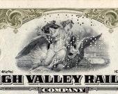 1949 Bond Lehigh Valley Railroad Company