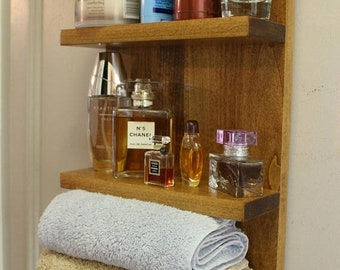 ON SALE Bathroom Shelf, Toiletry Shelves,Bathroom Towel Shelf, Bathroom  Storage, Bathroom