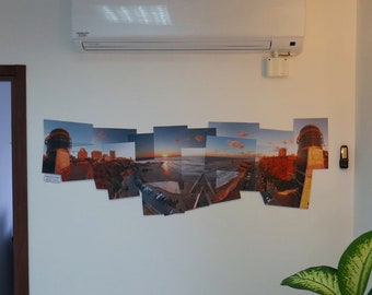 A handmade panorama from the beautiful views of the Holy Land of Israel, at any size you like