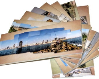 Panoramic Postcards Set with 10 beautiful views from the Holy Land of Israel!