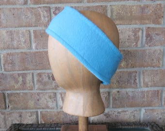 Fleece Head Warmer,  Ear Warmer, Fleece Headband, Winter Headband, Earmuffs, Match Your Beanie Scarf