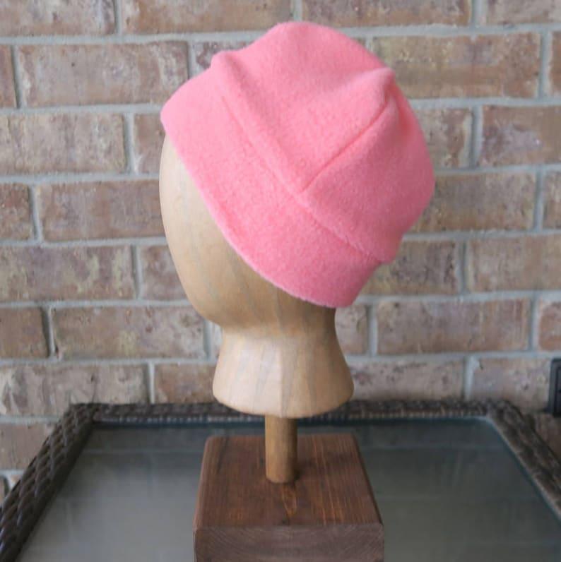 454597a130a Banded Fleece Winter Hat Kids Fleece Hat Fleece Cap Winter