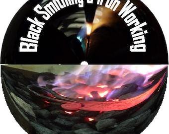Learn Blacksmithing Forging Anvil Steel Wrought Iron Welding 65 Books on CD