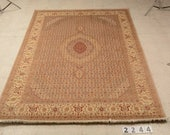 Super High Quality Hand Knotted Pak Persian rug, Tribal Life Tree Rug, New Persian Hand Woven Area Rug, Home decoration, Rug, item 2244