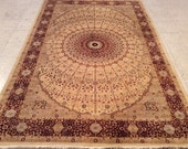 Super High Quality Hand Knotted Pak Persian rug, Tribal Life Tree Rug, New Persian Hand Woven Area Rug, Home decoration, Carpet, Rug, A40