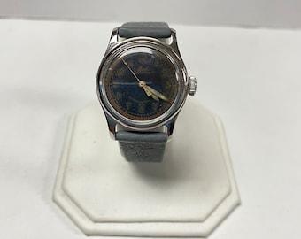 f767 Vintage Mido Automatic Men's Wrist Watch Stainless Steel Waterproof 17J