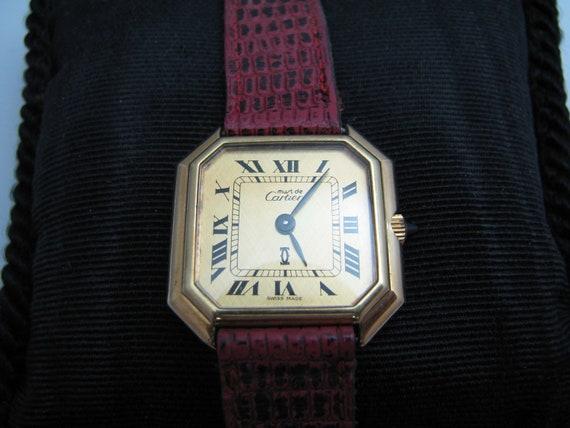 b319 Women's Must de Cartier wristwatch